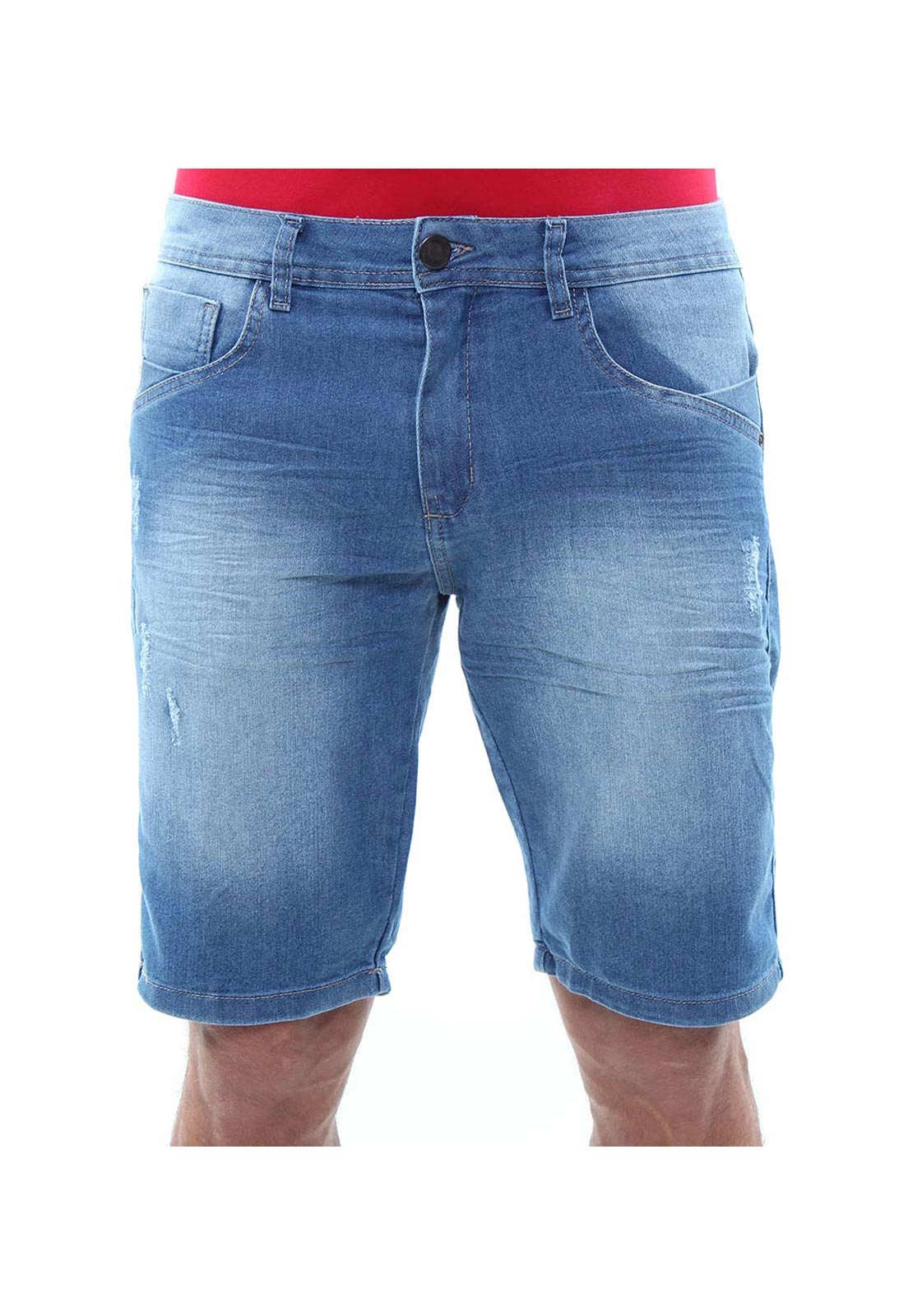 Bermuda Jeans Masculina Confort Crocker - 47742  - CROCKER JEANS