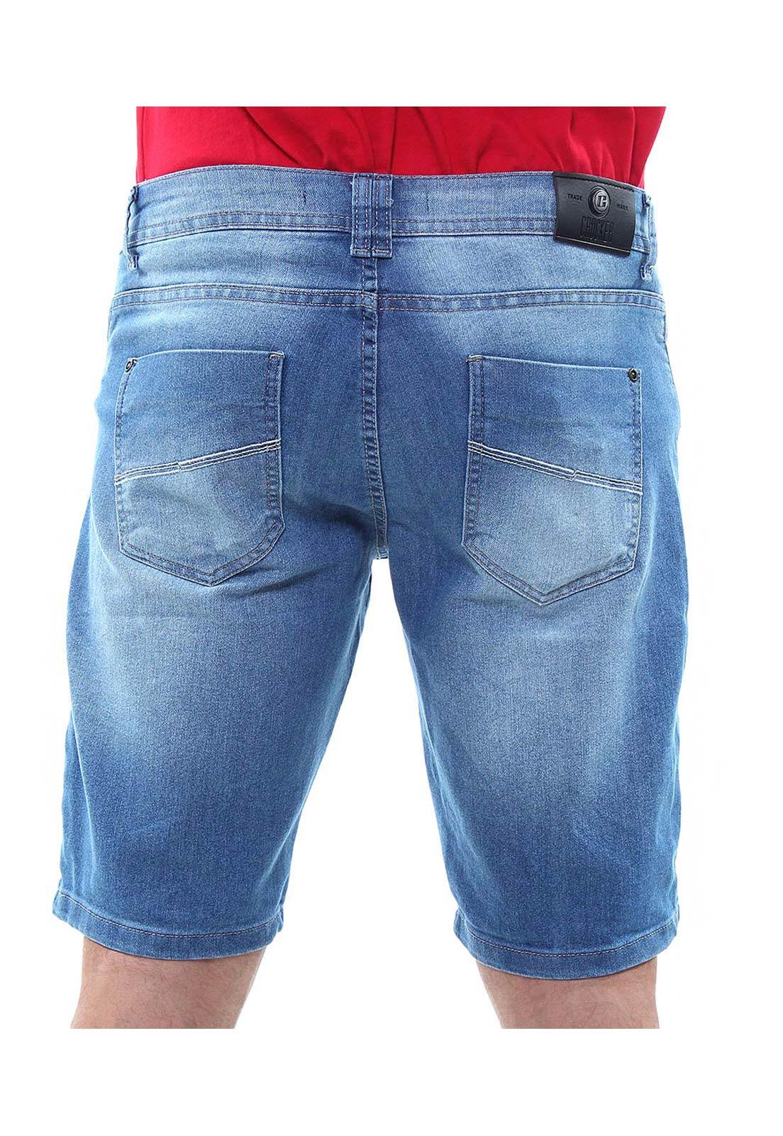 Bermuda Jeans Masculina Confort Crocker - 47742