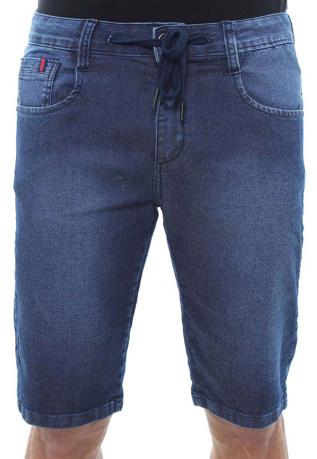 Bermuda Jeans Masculina Confort Crocker - 47839