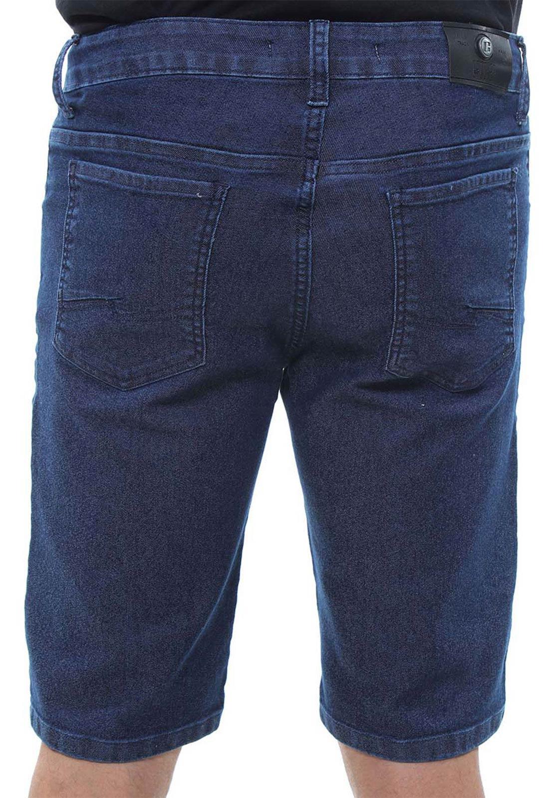 Bermuda Jeans Masculina Confort Crocker - 47839  - CROCKER JEANS