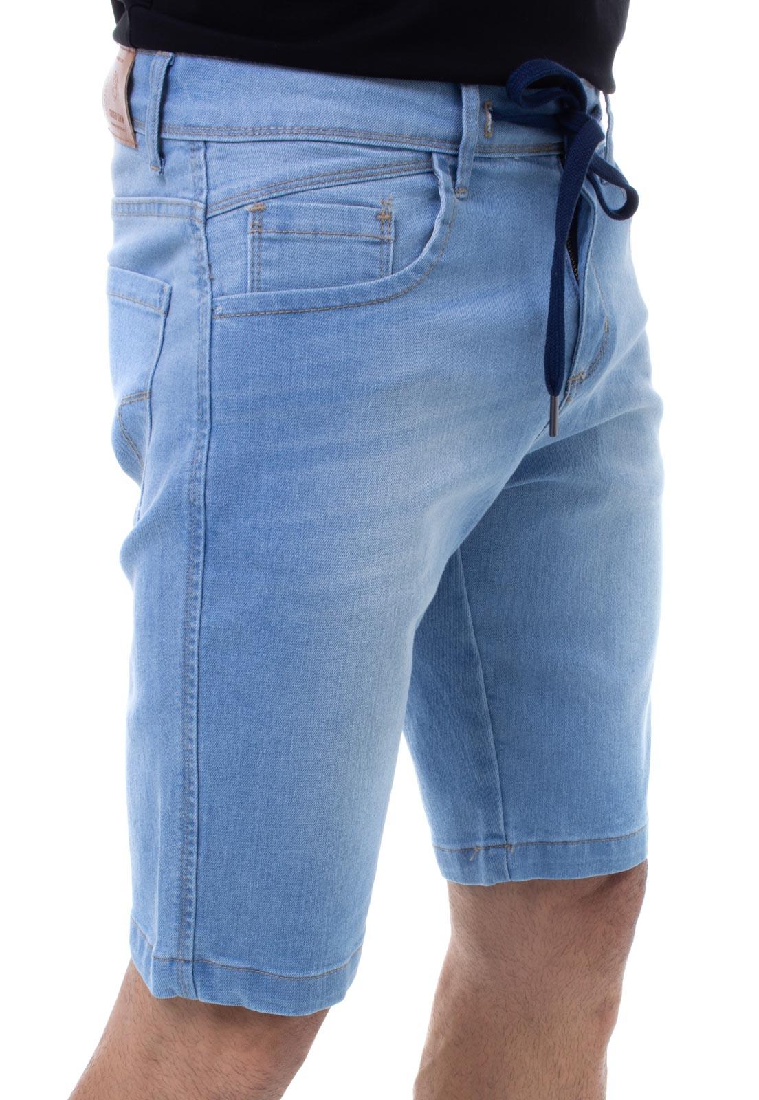 Bermuda Jeans Masculina Confort Crocker - 48139  - CROCKER JEANS