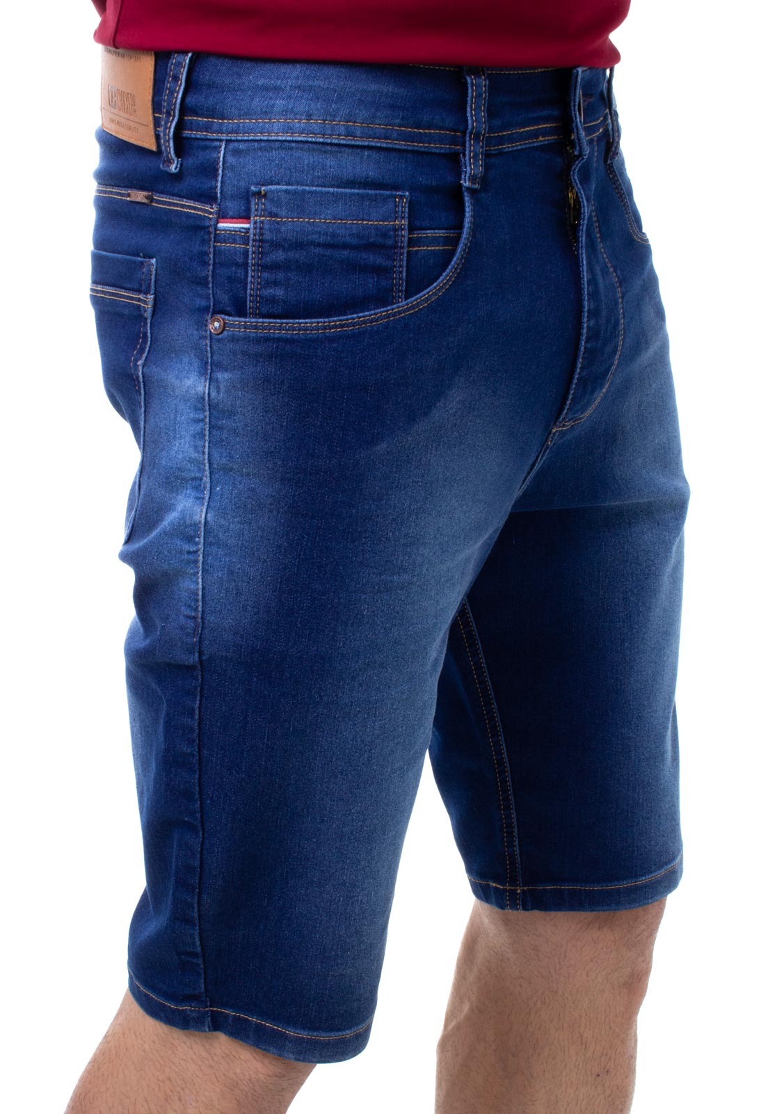 Bermuda Confort Jeans Masculina Crocker - 48225  - CROCKER JEANS