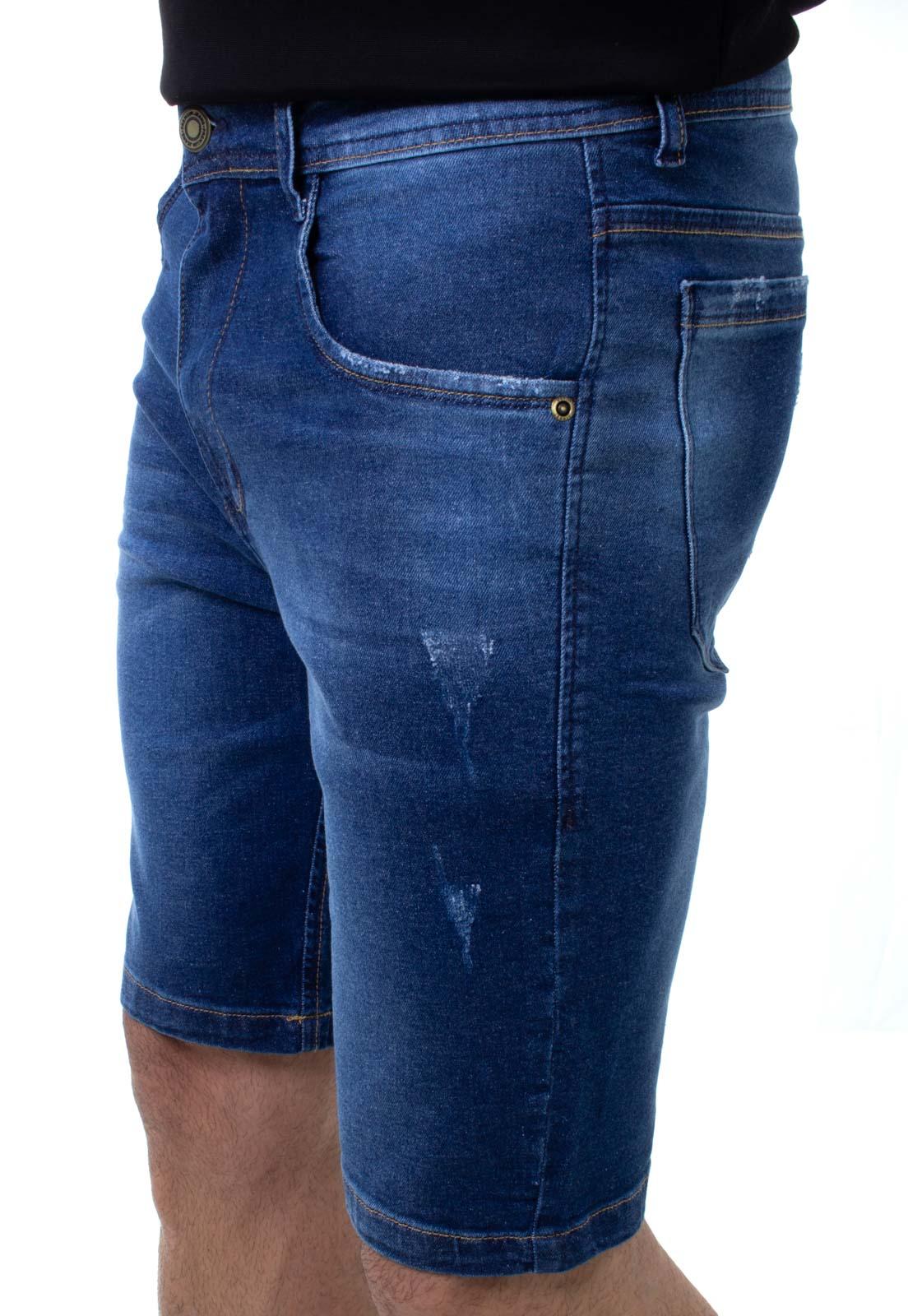 Bermuda Jeans Masculina Confort Crocker - 48227  - CROCKER JEANS