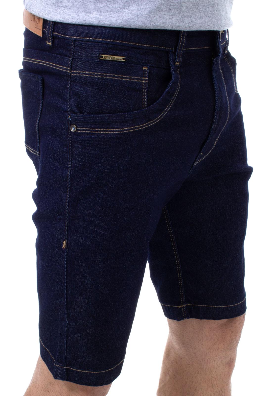 Bermuda Jeans Masculina Confort Crocker - 48239  - CROCKER JEANS