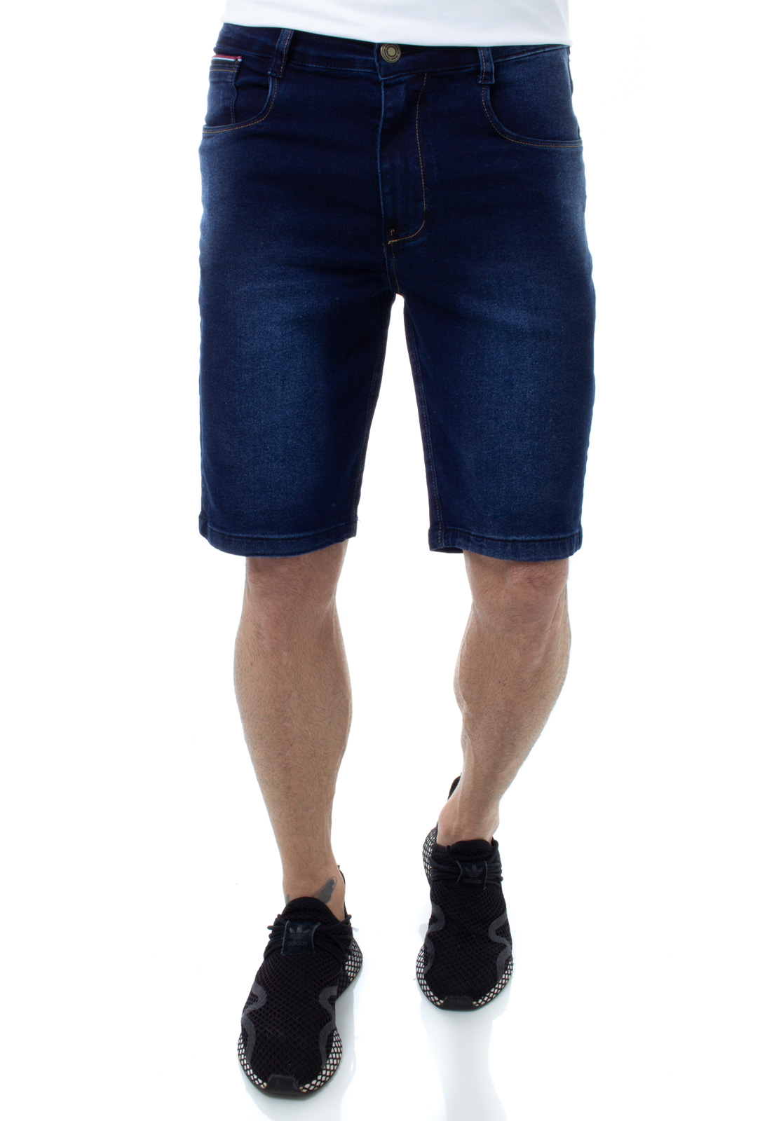 Bermuda Jeans Masculina Confort Crocker - 48240  - CROCKER JEANS
