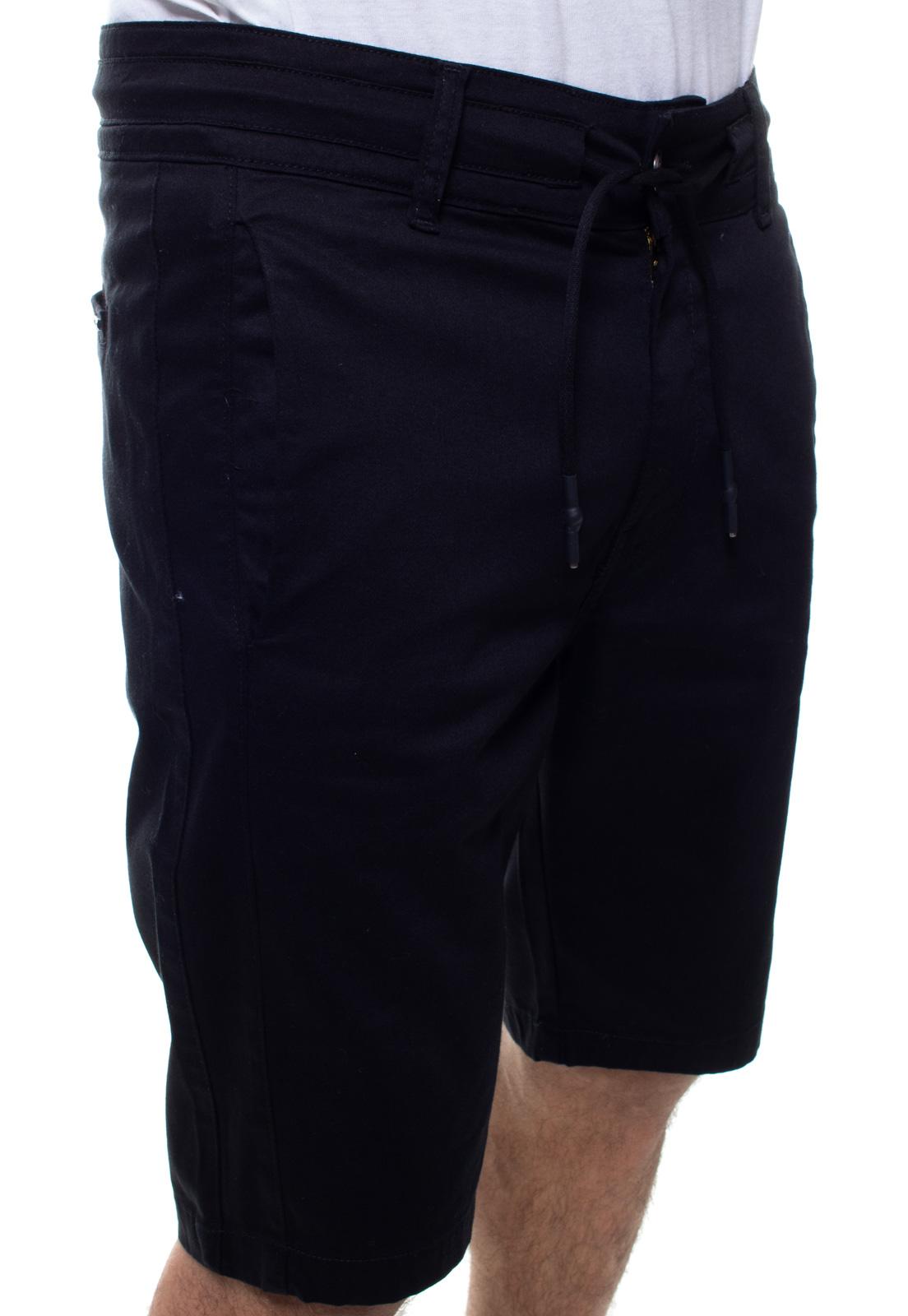 Bermuda Masculina Brim Com Cordão Crocker - 48128  - CROCKER JEANS