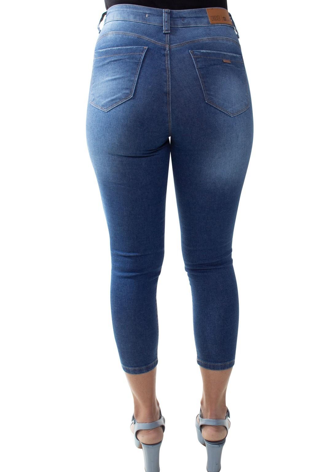 Calça Capri Jeans Feminina Crocker - 47748  - CROCKER JEANS
