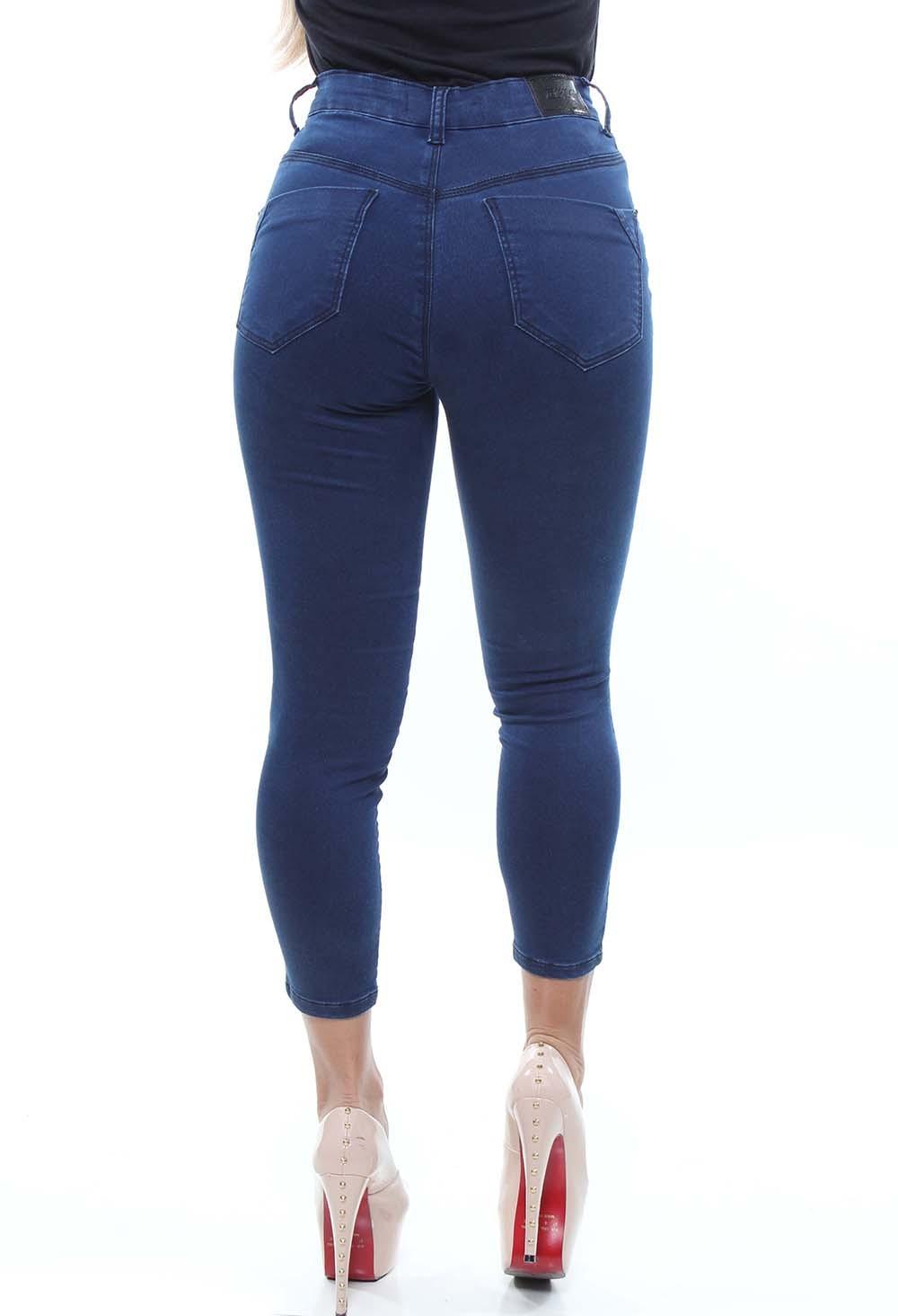 Calça Capri Jeans Feminina Crocker - 47751