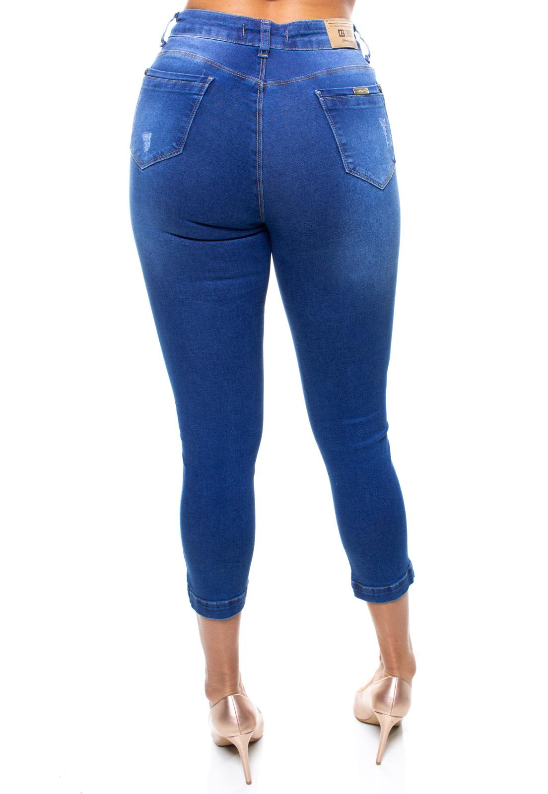 Calça Capri Jeans Feminina Crocker - 47756  - CROCKER JEANS
