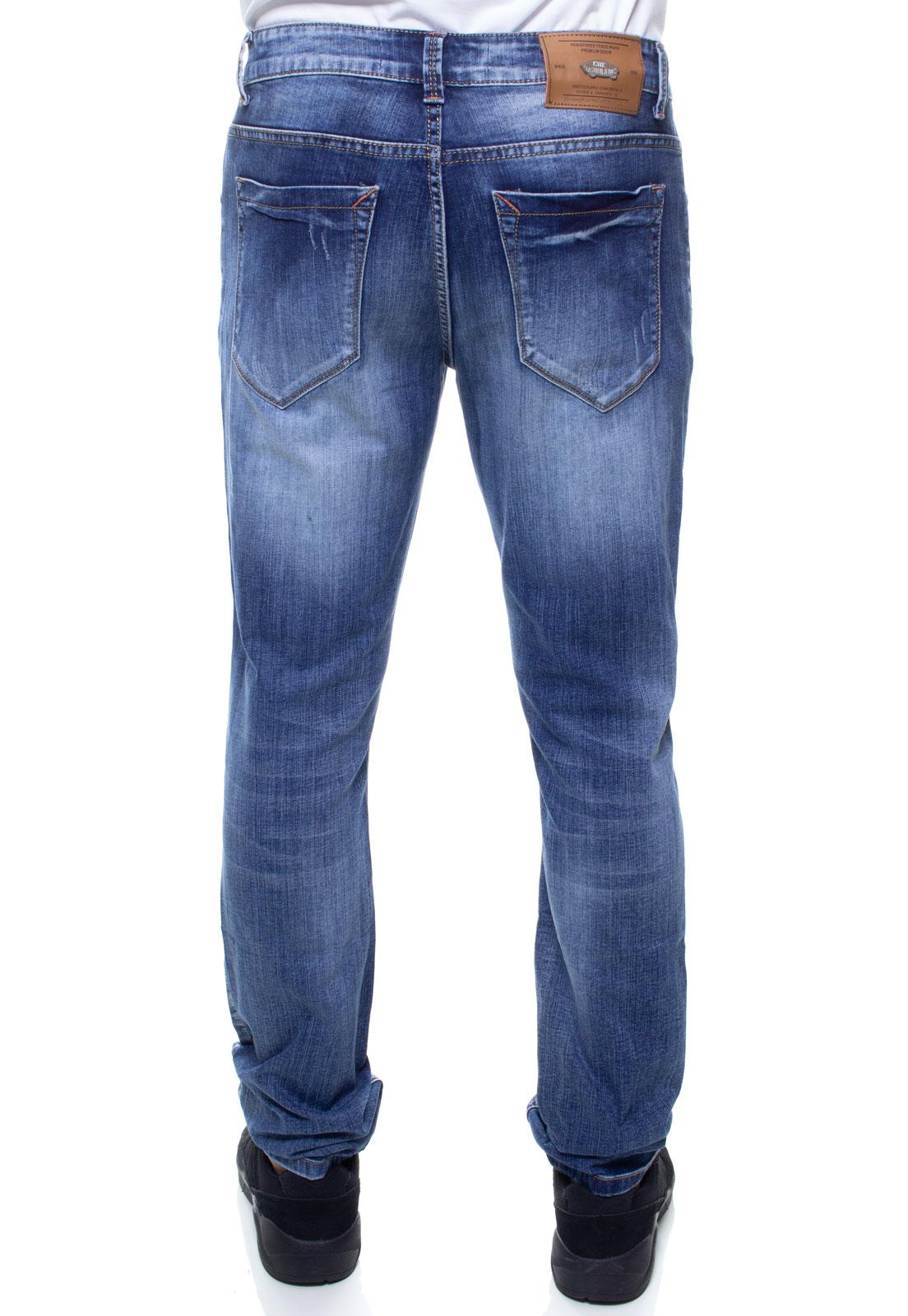 Calça Confort Jeans Masculina Crocker - 45687  - CROCKER JEANS