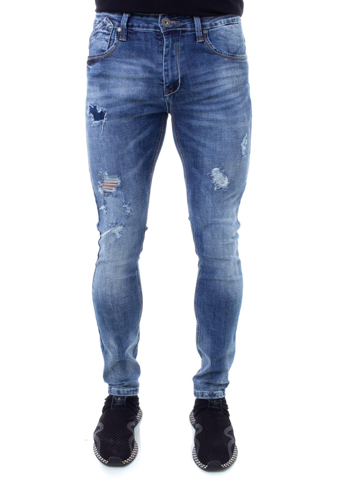 Calça Confort Jeans Masculina Crocker - 46507  - CROCKER JEANS