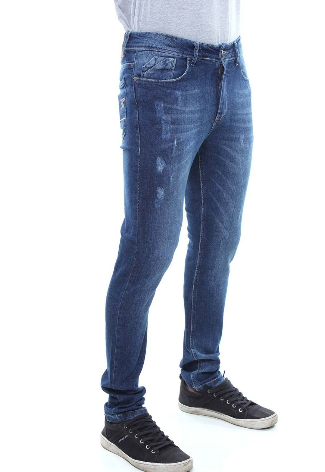 Calça Confort Jeans Masculina Crocker - 47684  - CROCKER JEANS