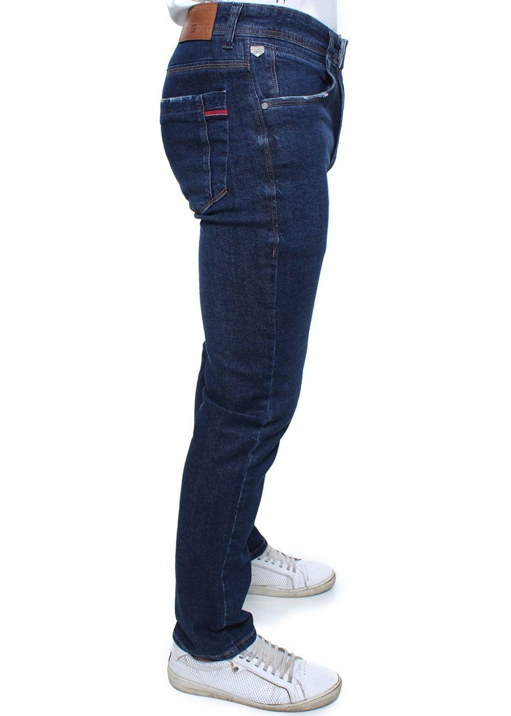 Calça Confort Jeans Masculina Crocker - 47759