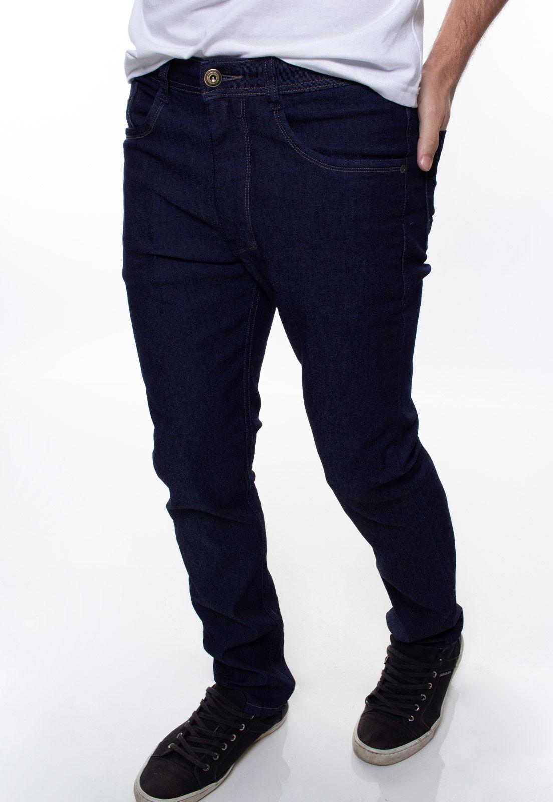 Calça Confort Jeans Masculina Crocker - 47764  - CROCKER JEANS