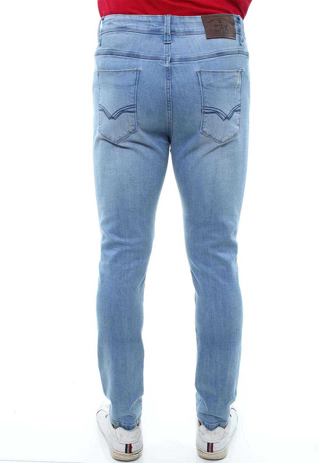 Calça Confort Jeans Masculina Crocker - 47790  - CROCKER JEANS
