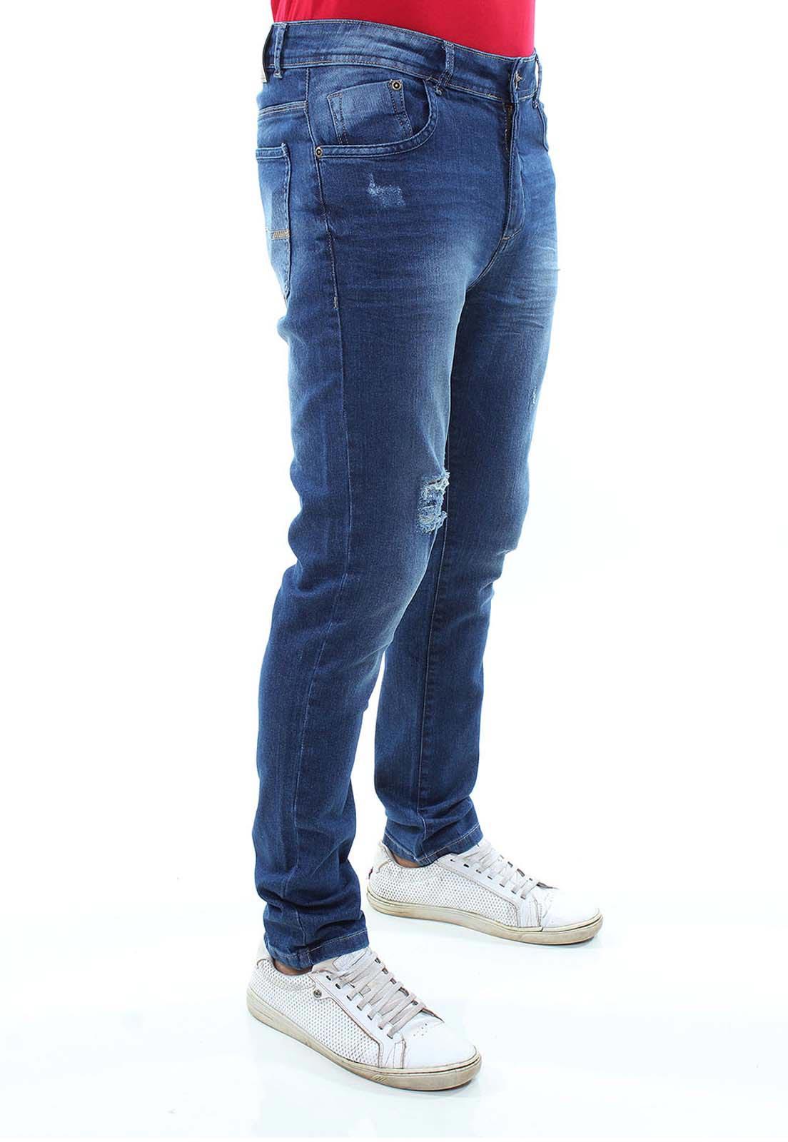 Calça Confort Jeans Masculina Crocker - 47793  - CROCKER JEANS