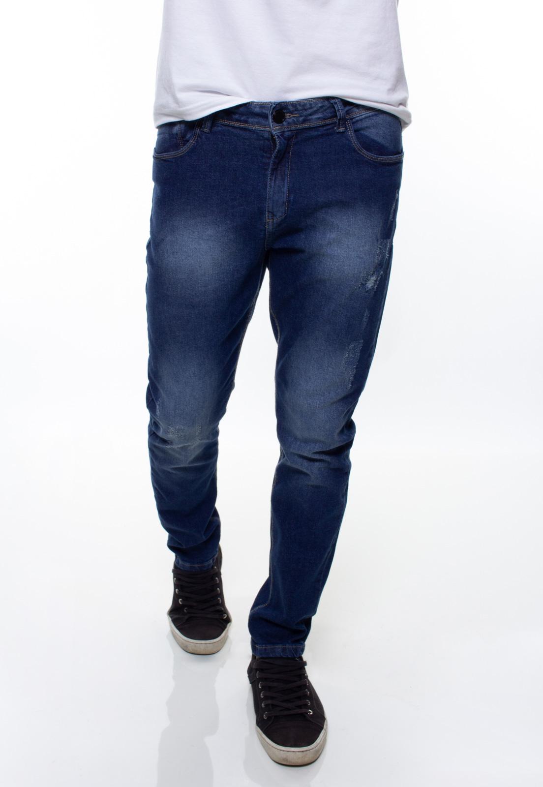Calça Confort Jeans Masculina Crocker - 48049  - CROCKER JEANS