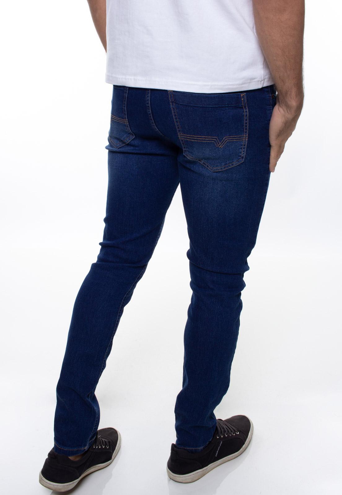 Calça Confort Jeans Masculina Crocker - 48051  - CROCKER JEANS