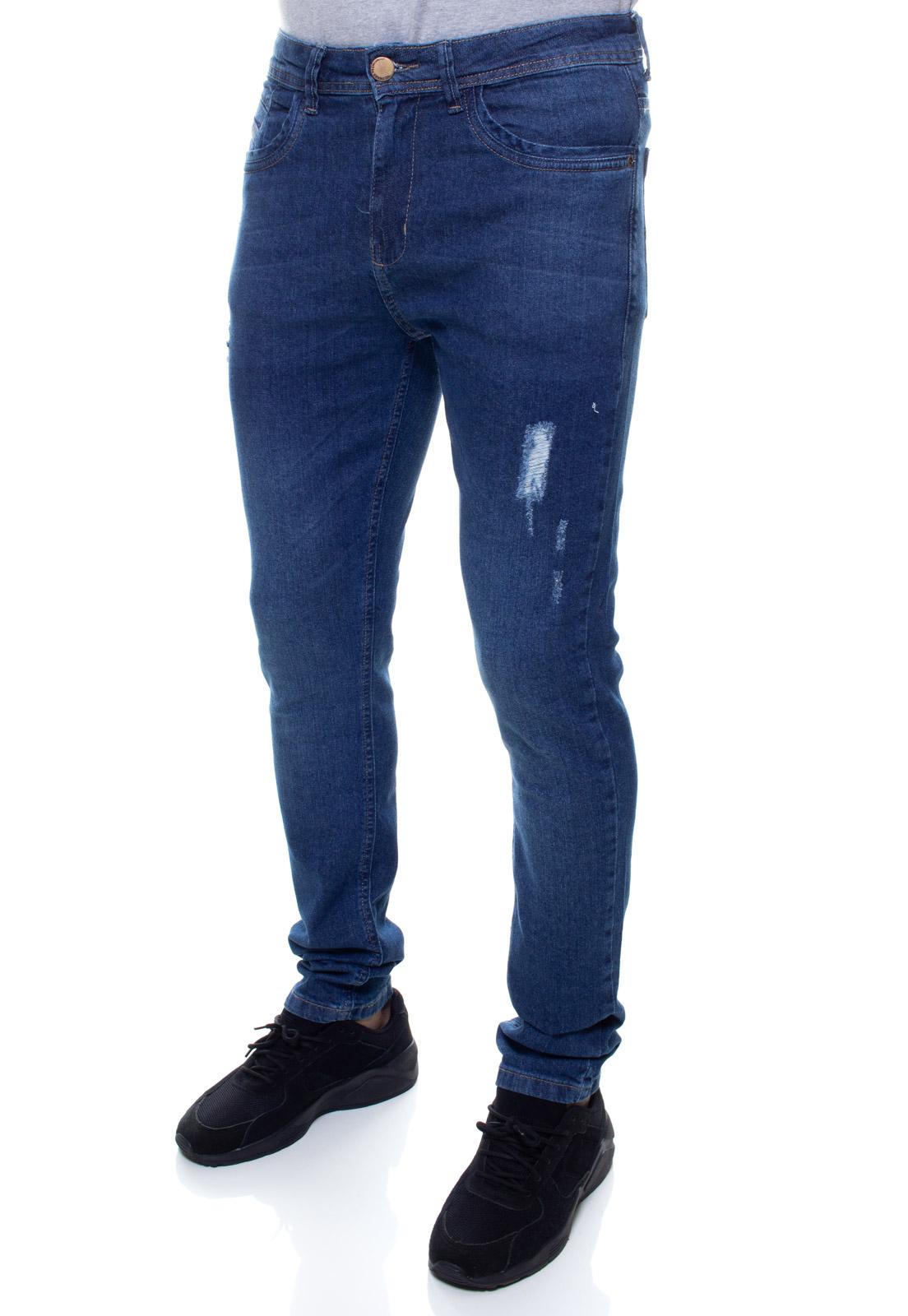 Calça Confort Jeans Masculina Crocker - 48064  - CROCKER JEANS
