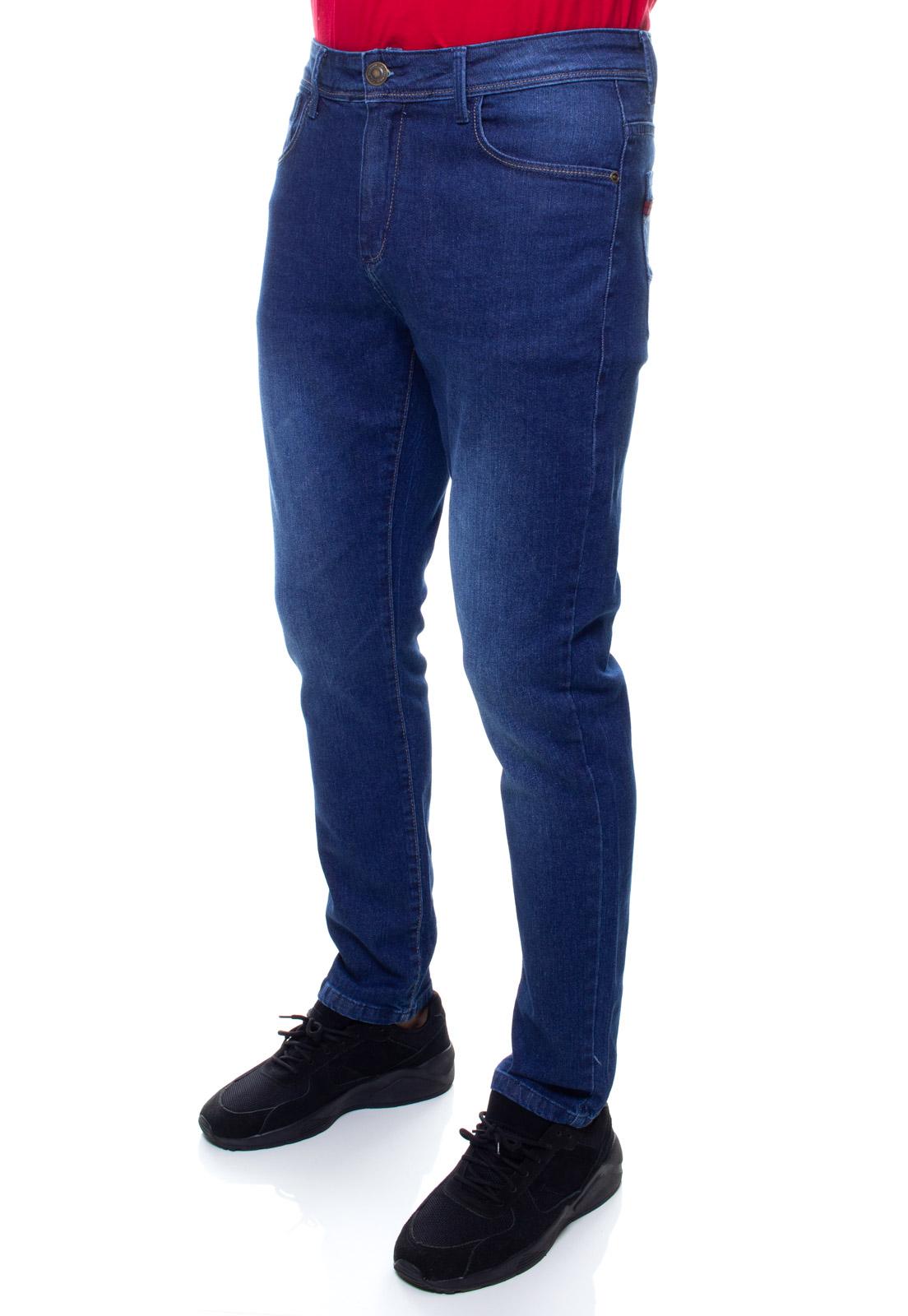 Calça Confort Jeans Masculina Crocker - 48109  - CROCKER JEANS