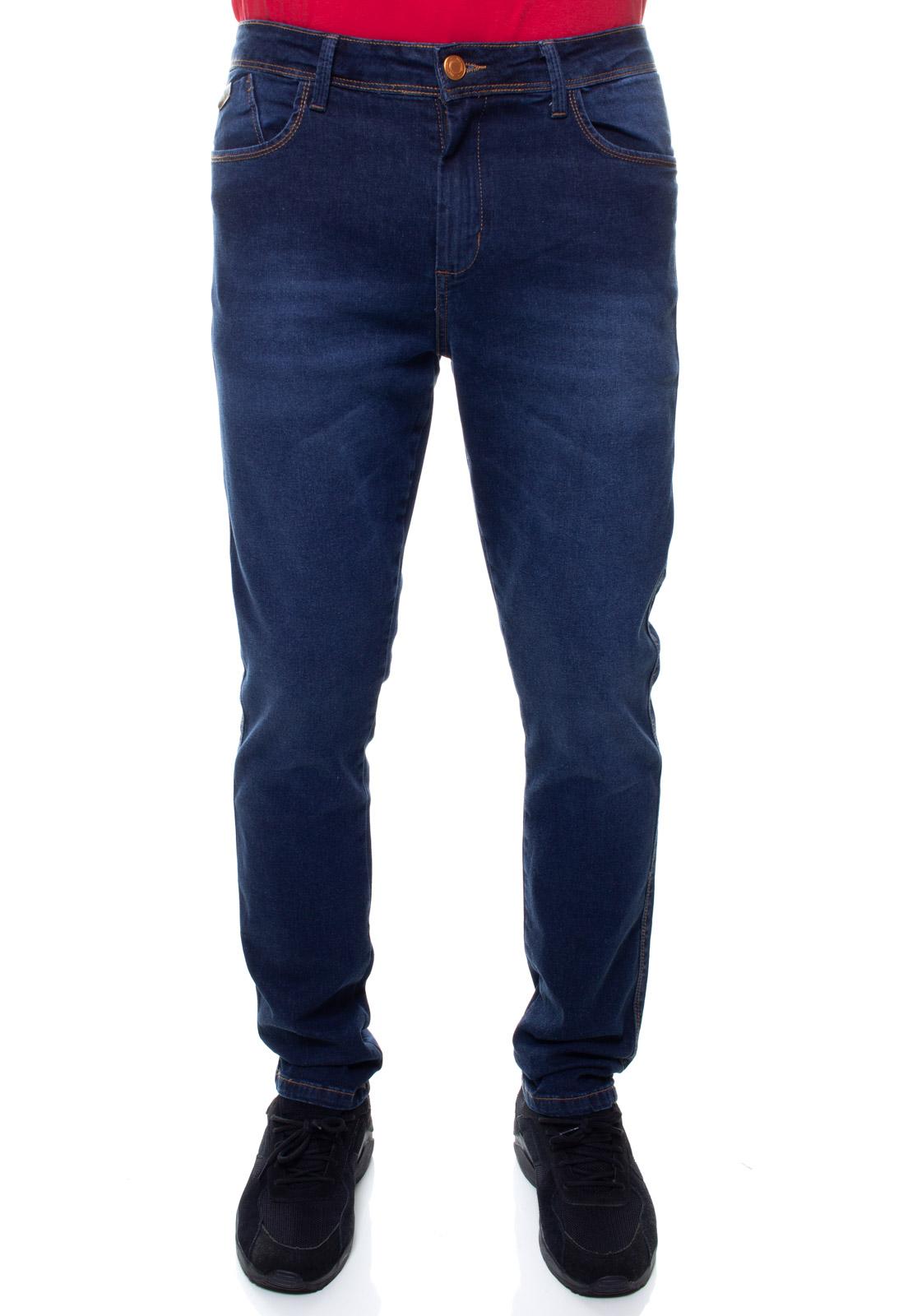 Calça Confort Jeans Masculina Crocker - 48110  - CROCKER JEANS