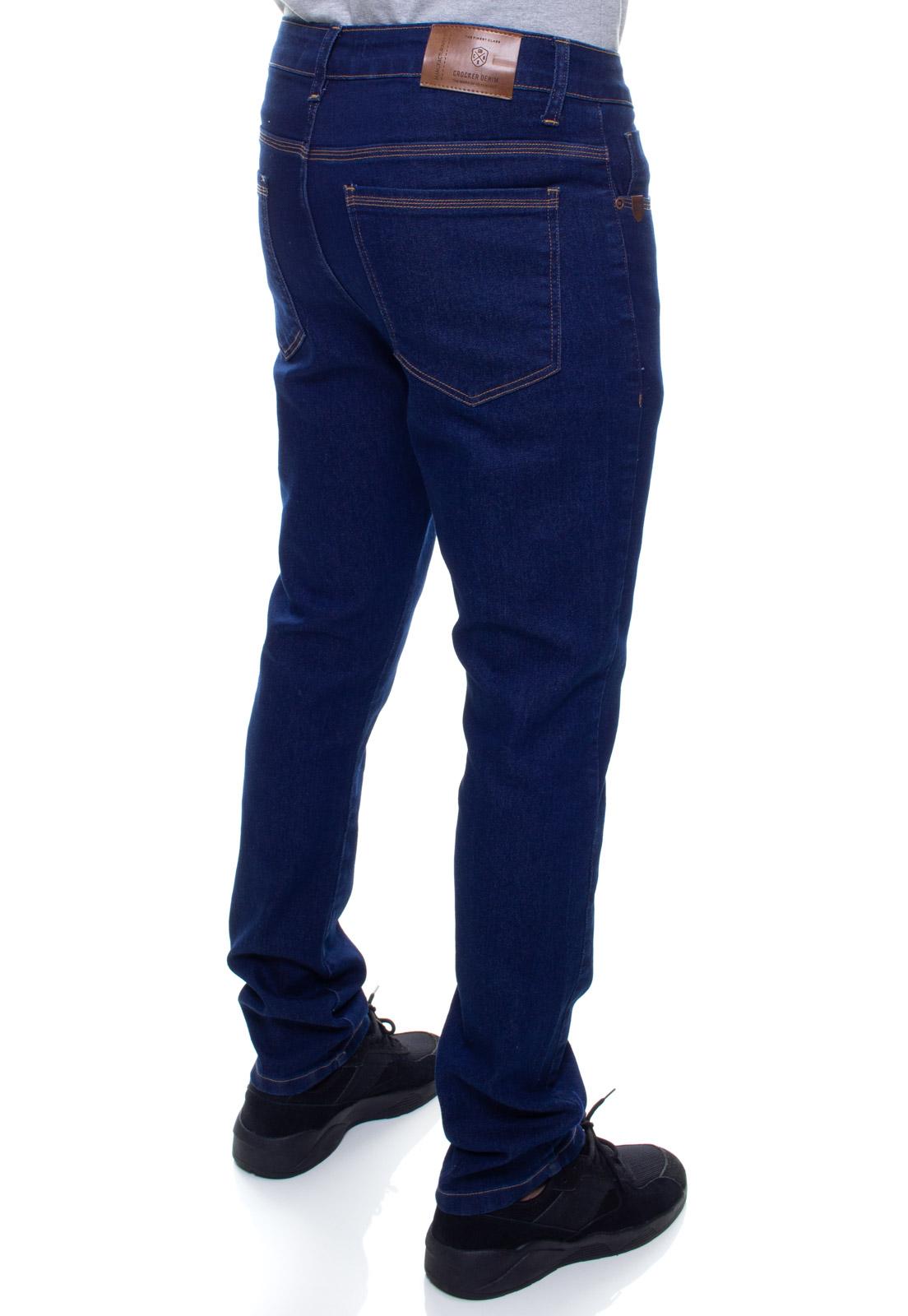 Calça Confort Jeans Masculina Crocker - 48137  - CROCKER JEANS