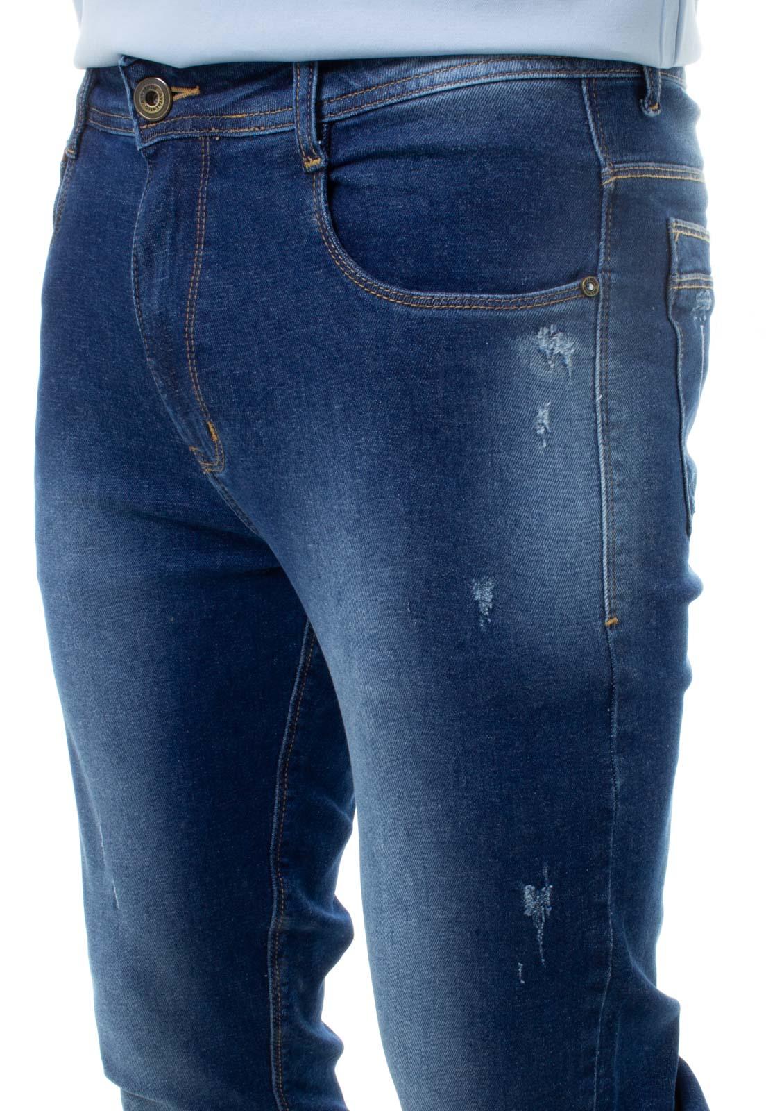 Calça Confort Jeans Masculina Crocker - 48232  - CROCKER JEANS