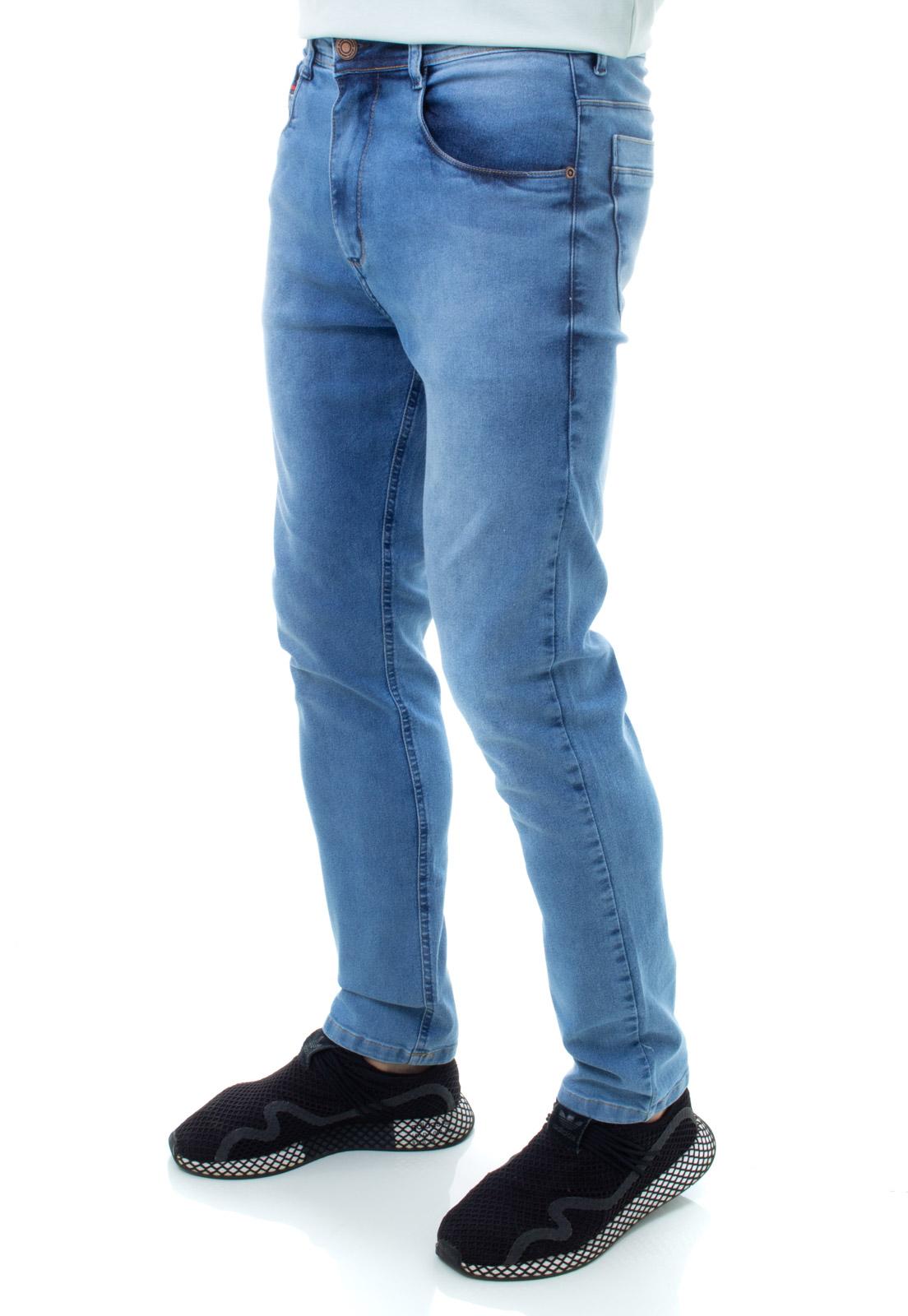 Calça Confort Jeans Masculina Crocker -48238  - CROCKER JEANS