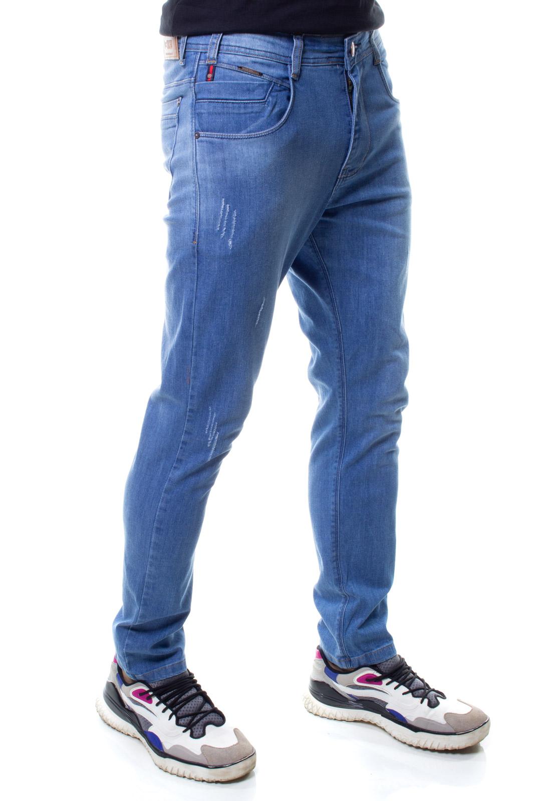 Calça Confort Jeans Masculina Crocker - 48269  - CROCKER JEANS