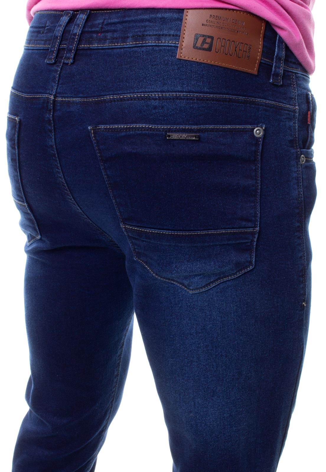 Calça Confort Jeans Masculina Crocker - 48271  - CROCKER JEANS