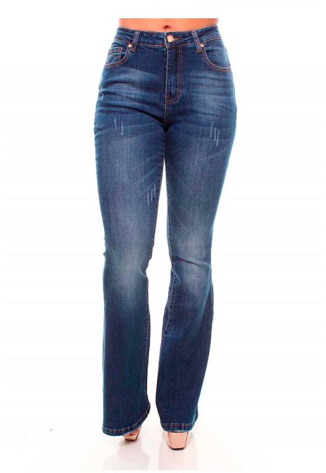 Calça Jeans Feminina Flare Crocker - 45853  - CROCKER JEANS