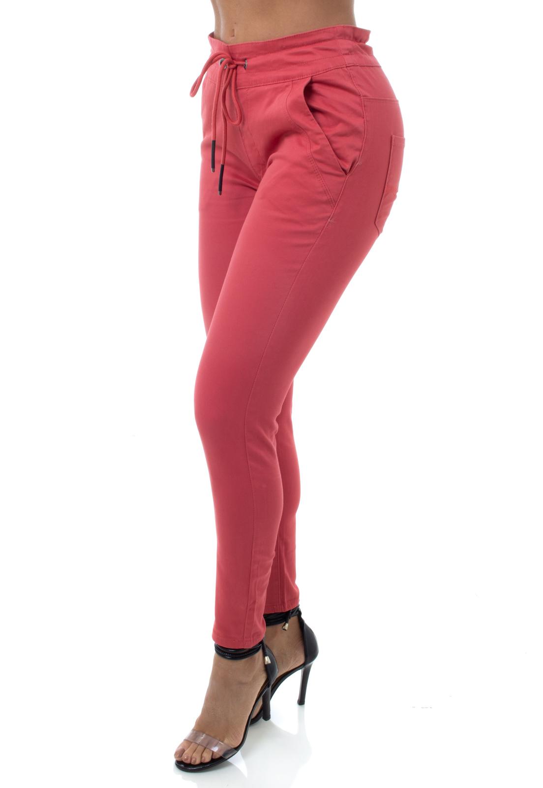 Calça Feminina Jogger Color Crocker - 47879  - CROCKER JEANS