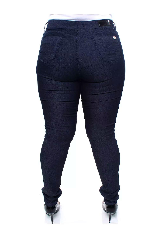 Calça Jeans Plus Size Feminina Skinny  Crocker - 47559
