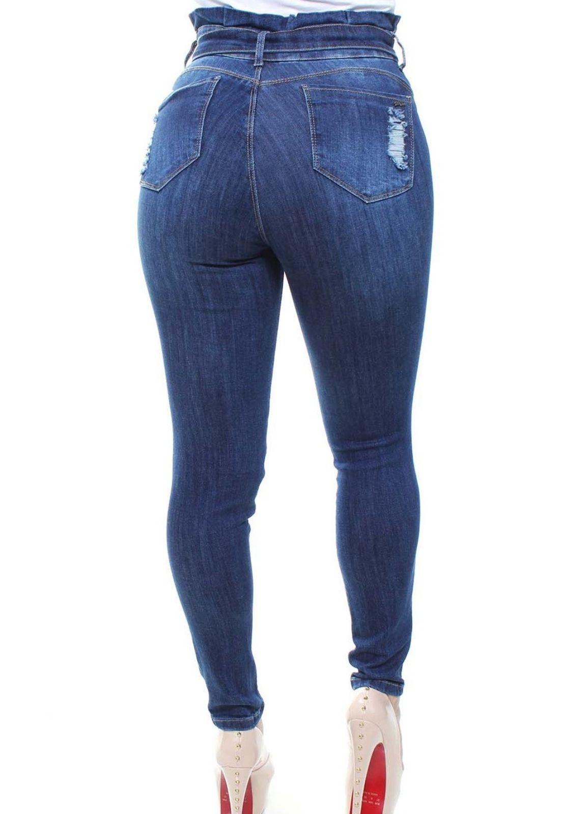 Calça Jeans Feminina Clochard Skinny Crocker - 47547