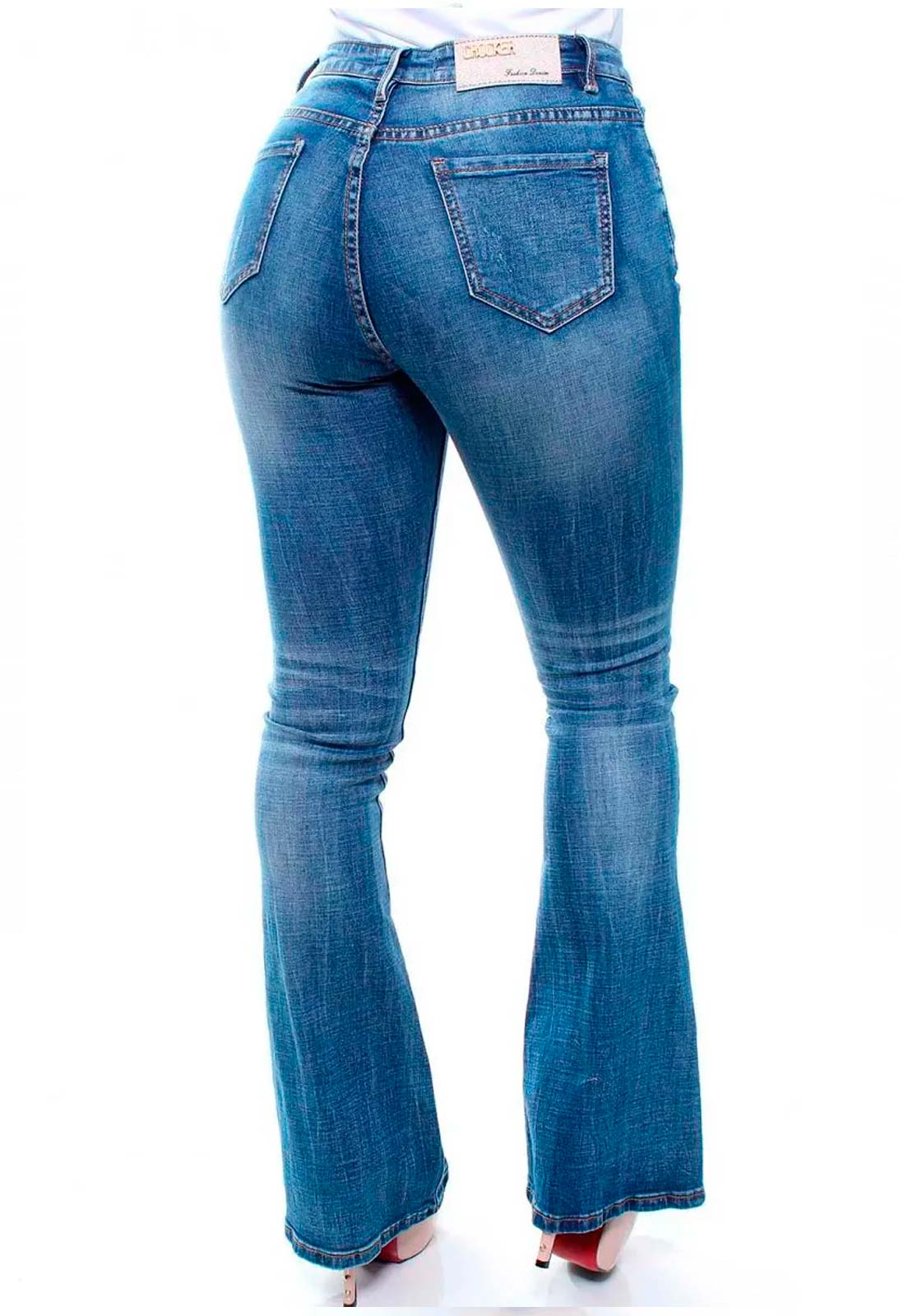 Calça Jeans Feminina Flare Crocker - 46406  - CROCKER JEANS