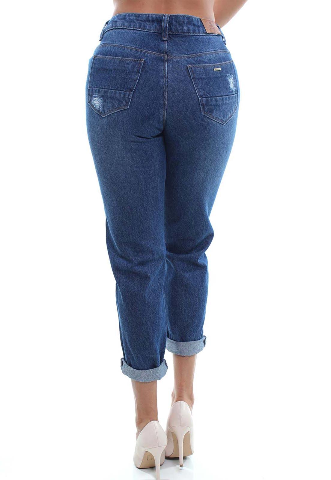 Calça  Jeans Feminina Mom Fit Crocker - 48072  - CROCKER JEANS
