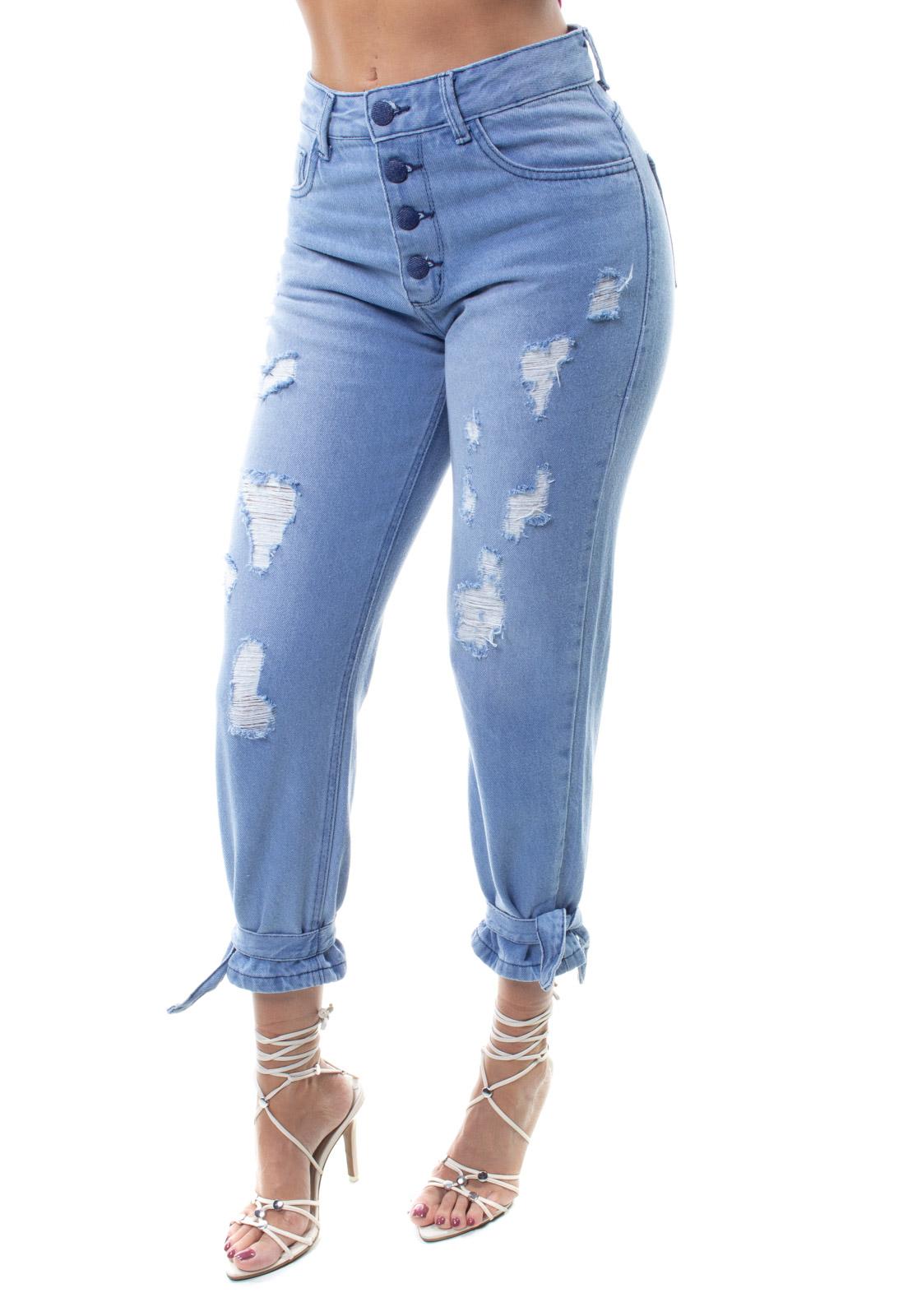 Calça  Jeans Feminina Mom Fit Crocker - 48173  - CROCKER JEANS