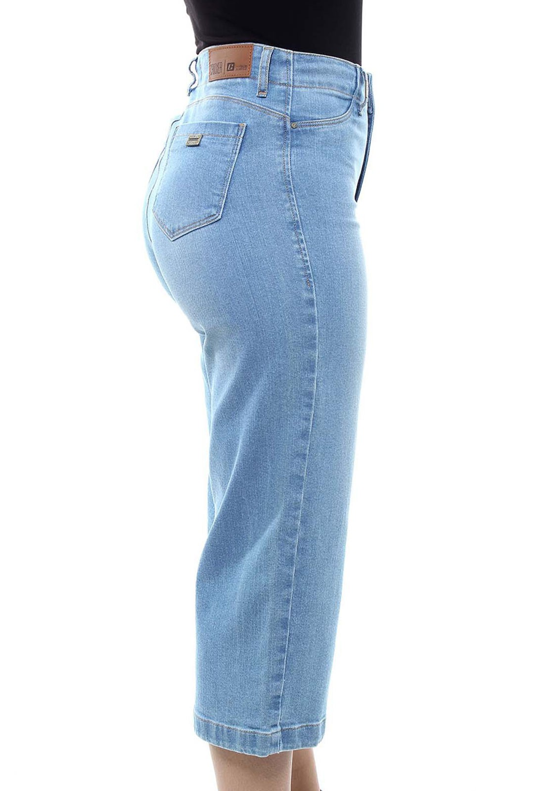 Calça Jeans Feminina Pantacurt Crocker - 47758  - CROCKER JEANS