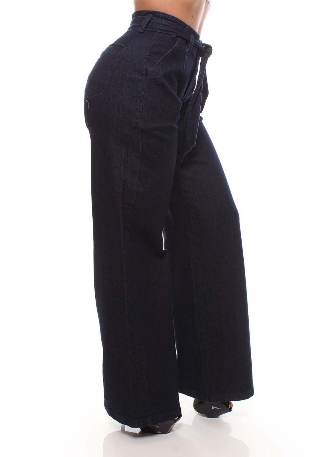 Calça Jeans Feminina Pantalona Crocker - 47553  - CROCKER JEANS