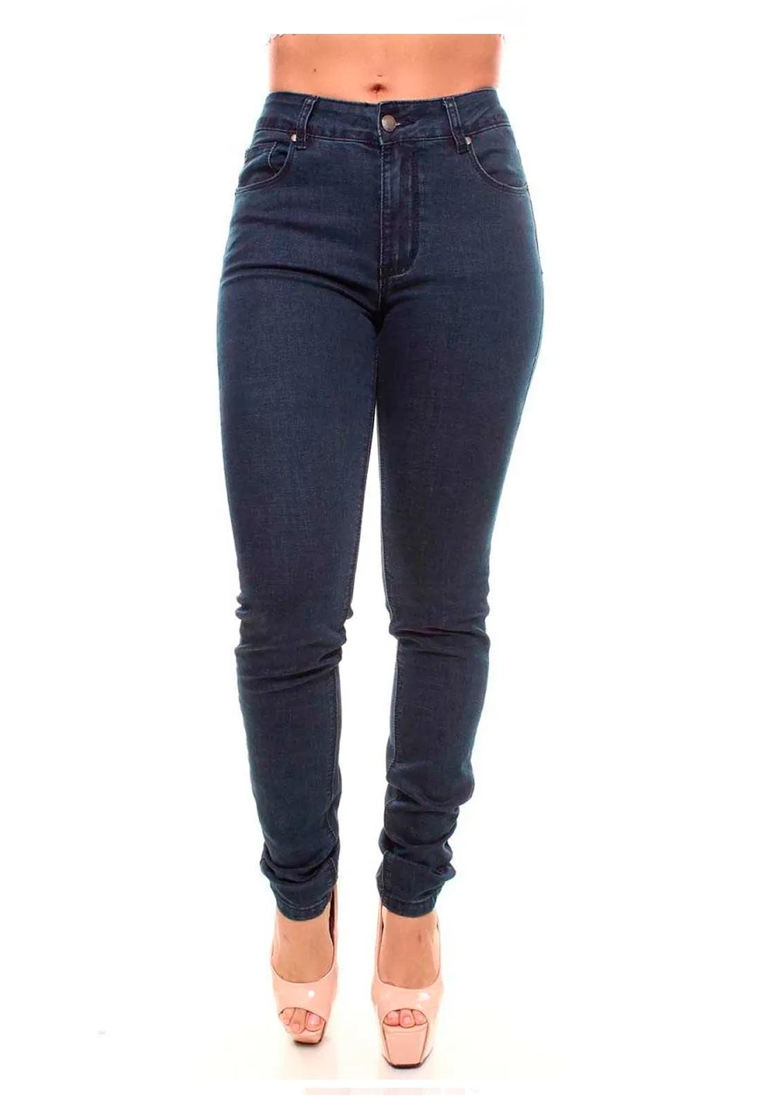 Calça Jeans Feminina Skinny Crocker - 46307