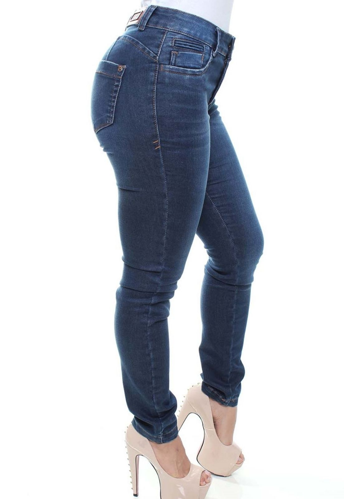 Calça Jeans Feminina Skinny Crocker - 47534  - CROCKER JEANS