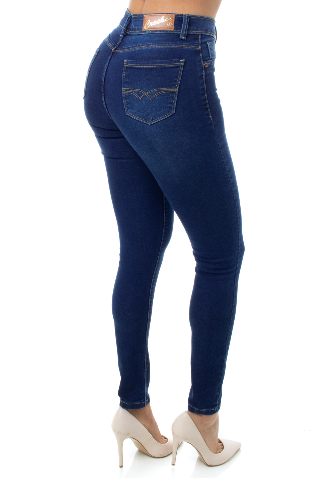 Calça  Jeans Feminina Skinny Crocker - 48176  - CROCKER JEANS