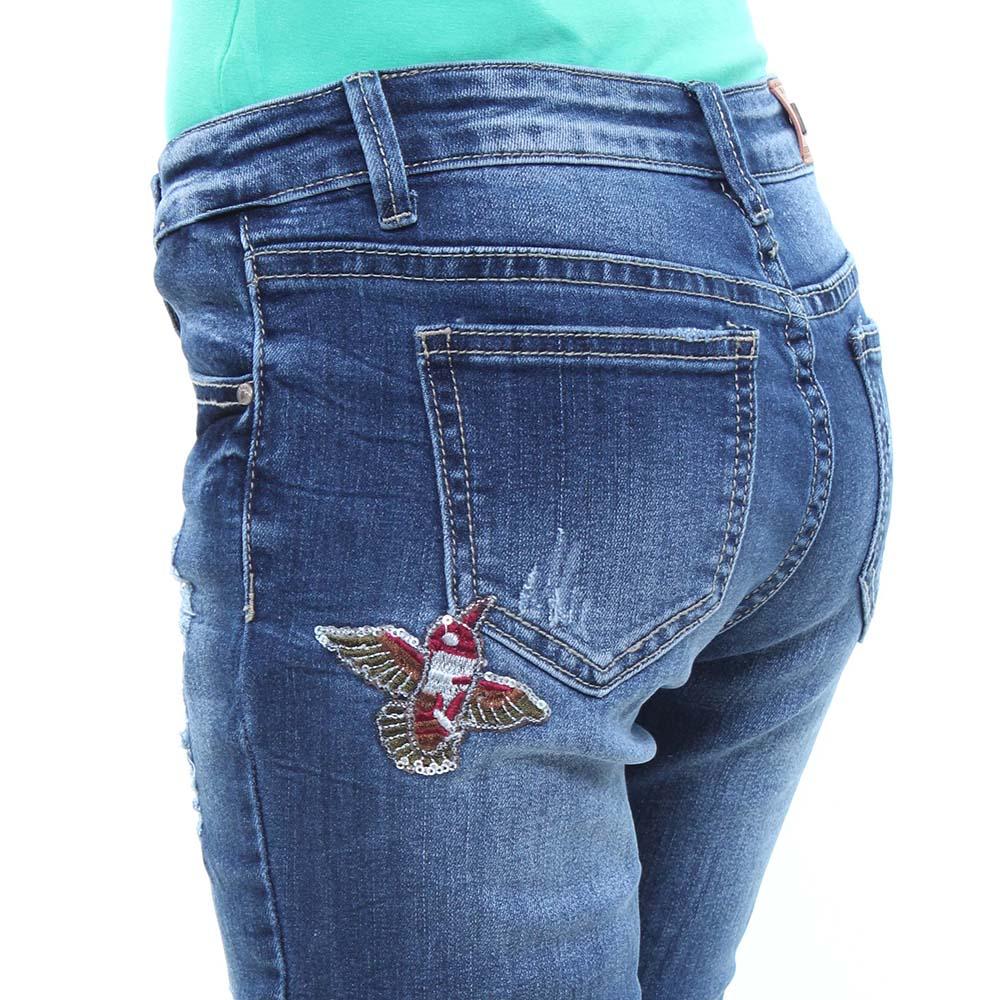 Calça Jeans Juvenil Feminina Crocker - 45929  - CROCKER JEANS