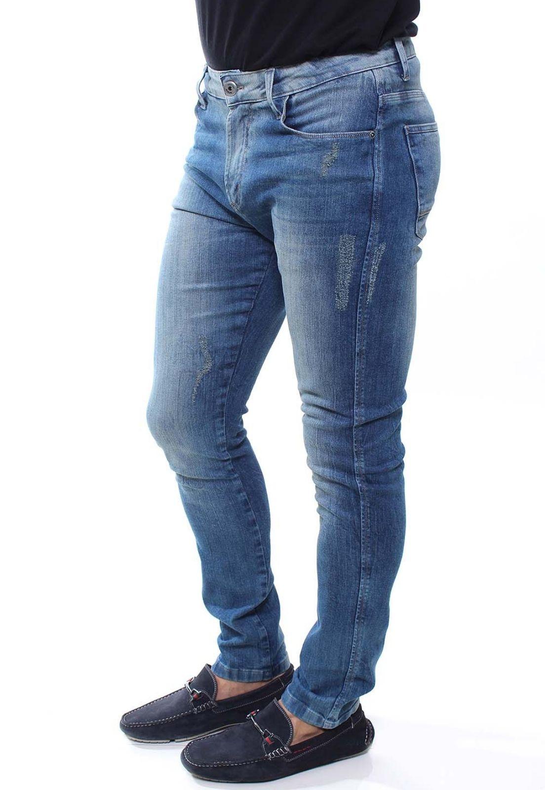 Calça Jeans Masculina Destroyed Confort Crocker - 47688  - CROCKER JEANS
