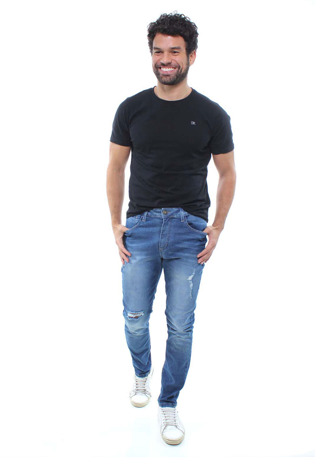 Calça Jeans Masculina Destroyed Confort Crocker - 47984