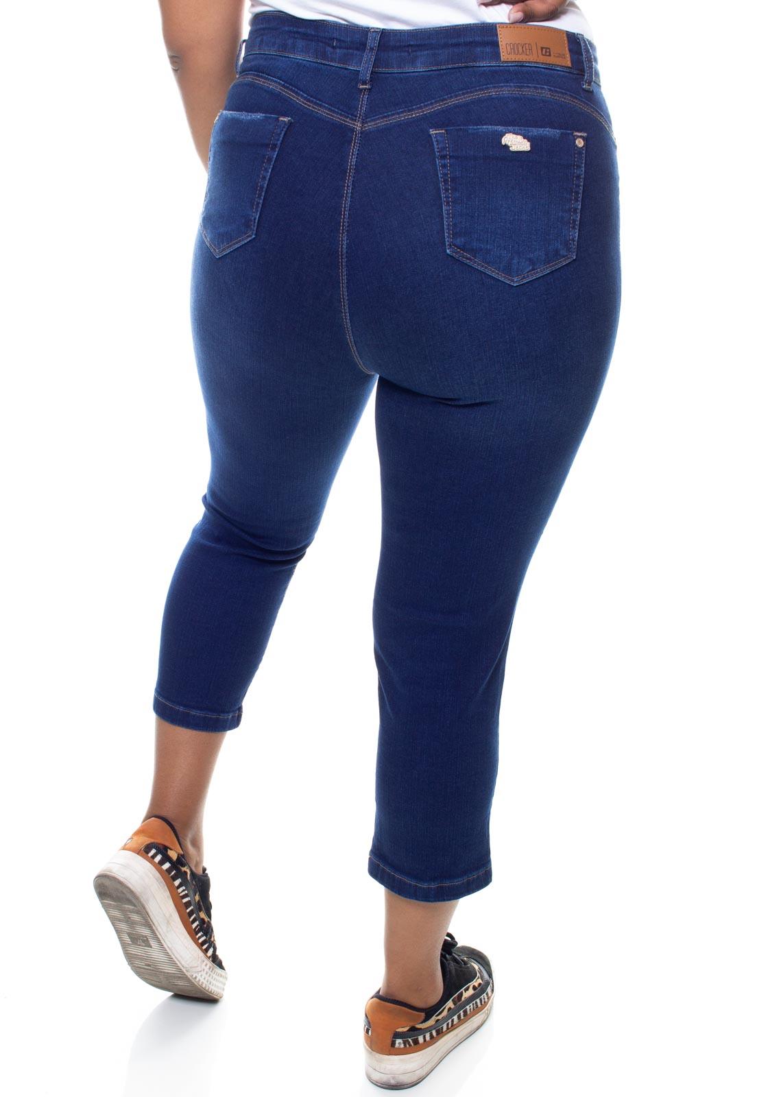 Calça Jeans Plus Size Feminina Capri Crocker - 47753  - CROCKER JEANS