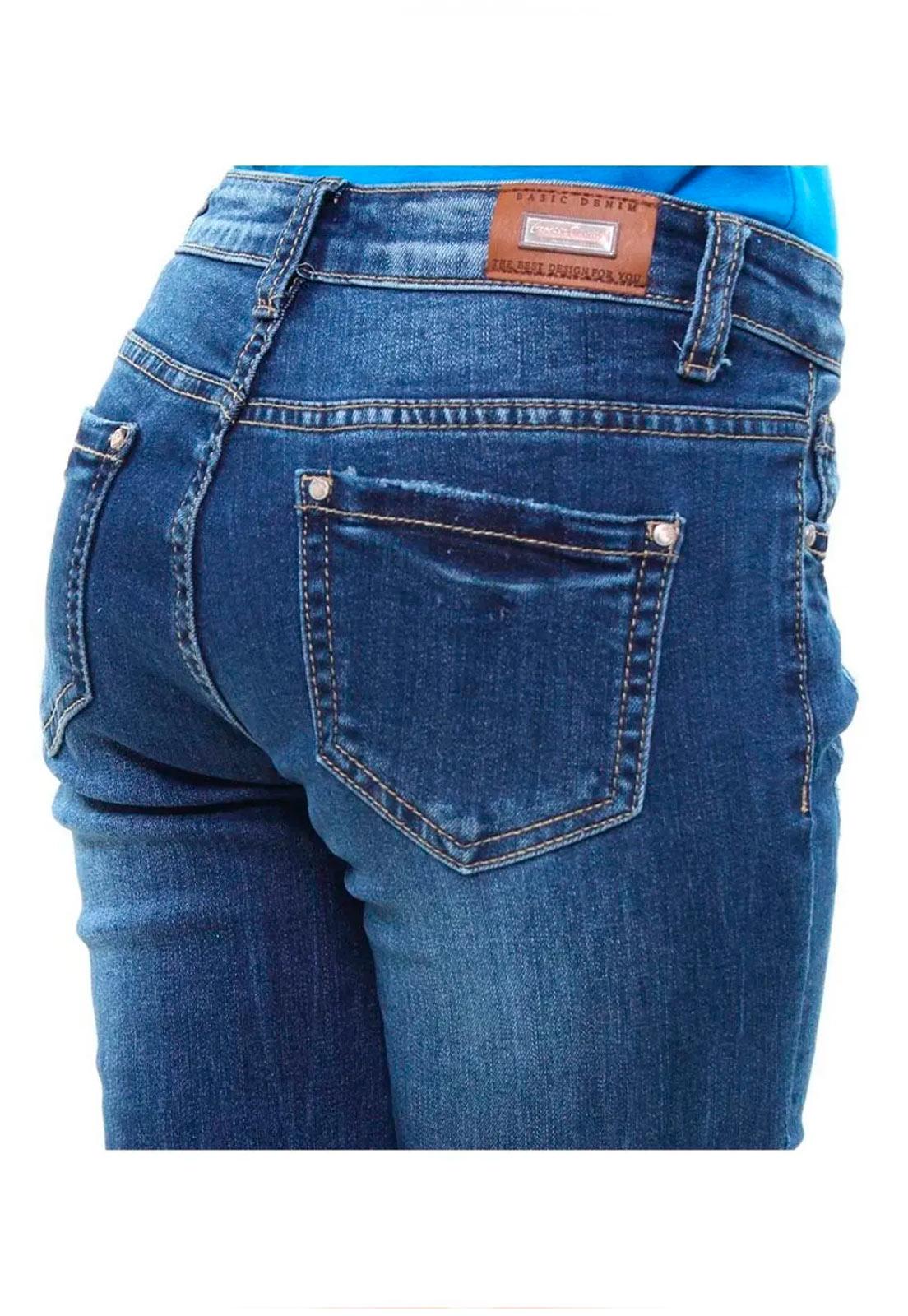 Calça Jeans Skinny Juvenil Feminina Crocker - 45931  - CROCKER JEANS