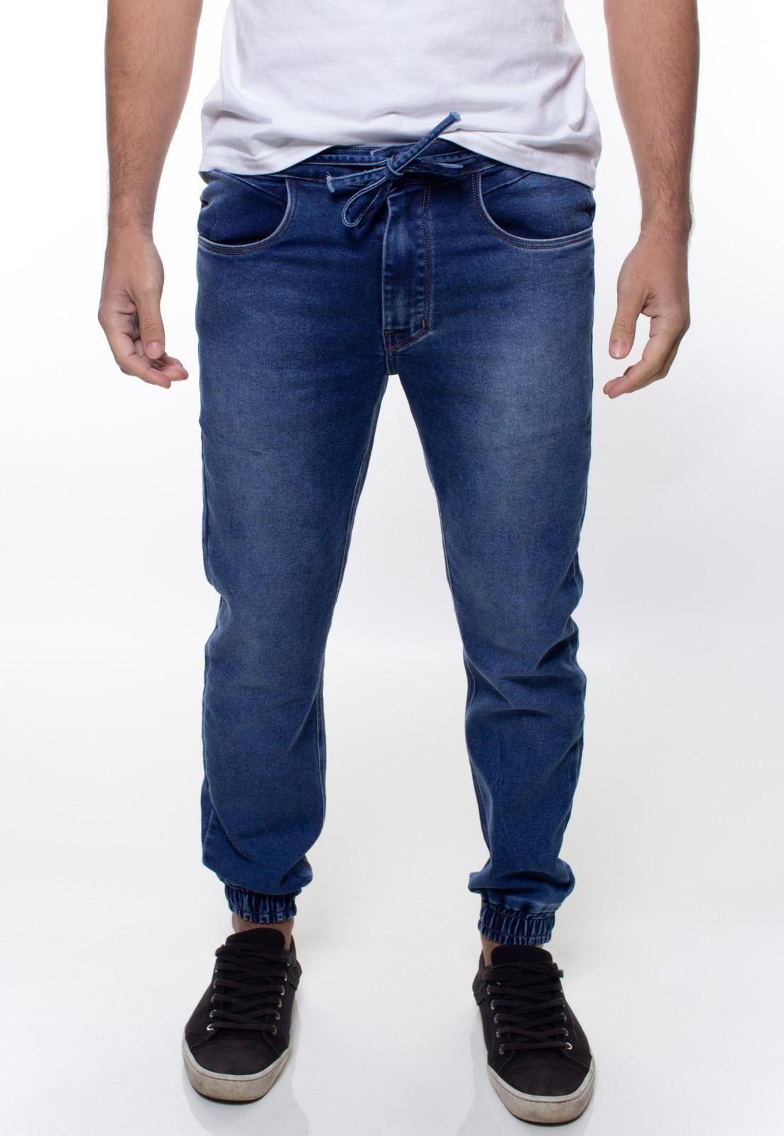 Calça Jogger Jeans Masculina Crocker - 48062  - CROCKER JEANS