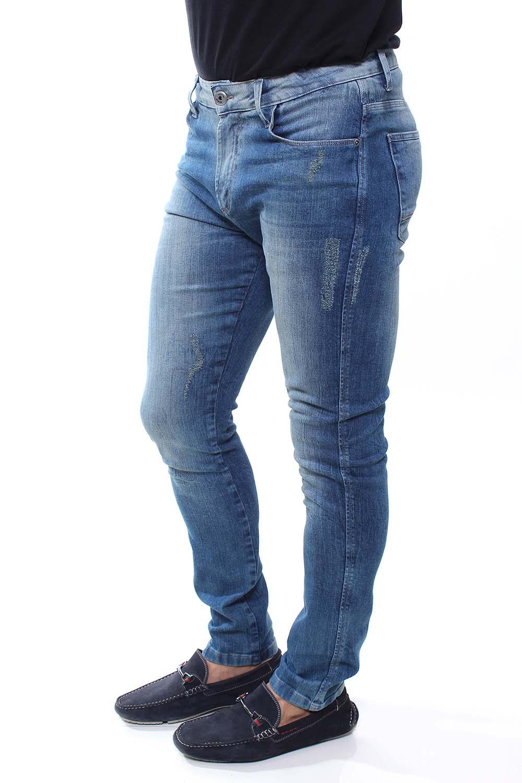 Calça Jeans Masculina Destroyed Confort Crocker - 47688