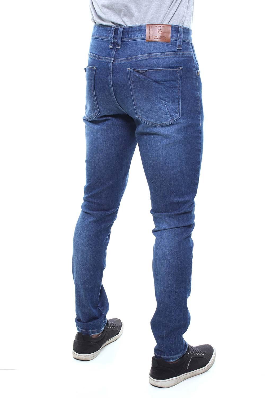 Calça Jeans Masculina Estonada Confort Crocker - 47740